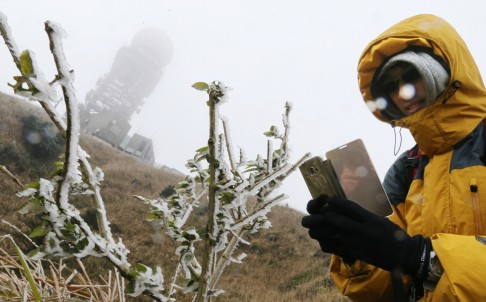 Snow in South China's Tropics
